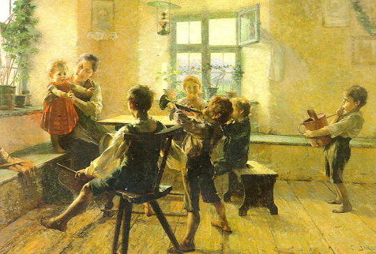 Childrens Concert by George Iakovidis