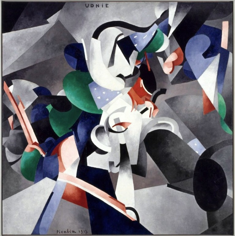 Francis Picabia 1913 Udnie Young American Girl The Dance oil on canvas 290 x 300 cm Musée National dArt Moderne Centre Georges Pompidou Paris