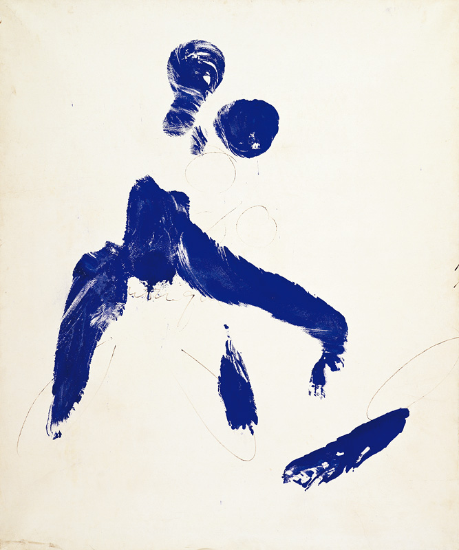 Yves Klein, Anthropométries, 1960