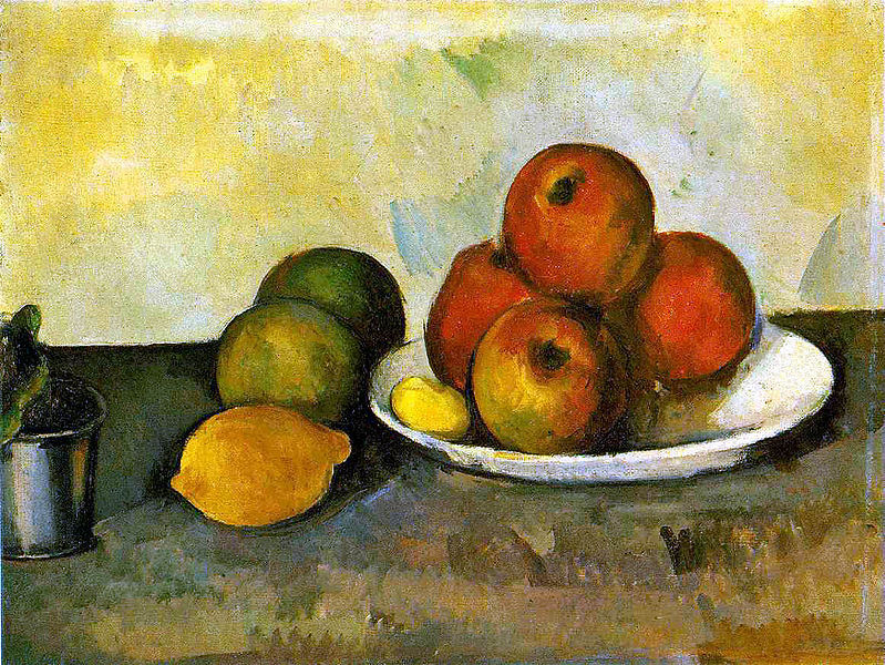 Paul Cézanne Still Life With Apples c 1890