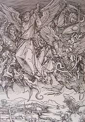 Η μάχη του Αρχάγγελου Μιχαήλ εναντίον του δράκοντα, 1498