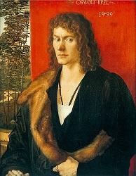 Πορτραίτο του Όσβαλντ Κρελ, έμπορου του Λίννταου, 1499