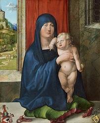 Η Παρθένος και το Θείο Βρέφος, 1495-1496