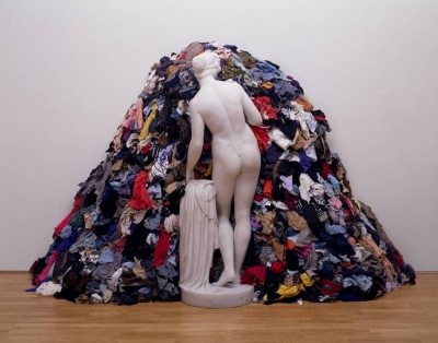 """Venus of the rags"" Michelangelo Pistoletto"